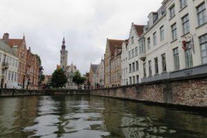 Les canaux à Bruges