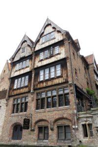 Vieille façade à Bruges