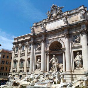 La fontaine de Trevi Rome.