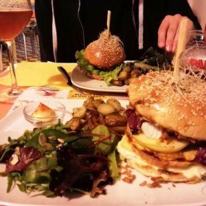 Assiettes du restaurant la Dinette Lille.