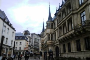 Palais grand-ducal Luxembourg ville.