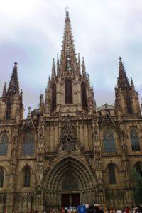 Cathédrale gothique La Seu (Santa Creu) Barcelone.