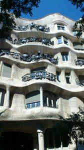 La Perdrera maison de Gaudi Barclone.