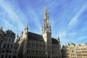 Hôtel de ville de Bruxelles.