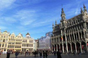 Grand-Place de Bruxelles et maison du toi