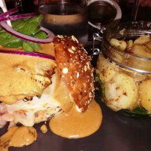 Hamburgers du restaurant l'Adresse Lille.