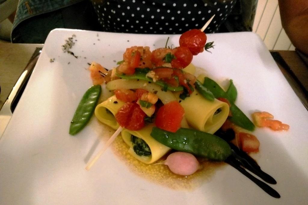 Assiette du restaurant l'Ame au Vert Avelin.