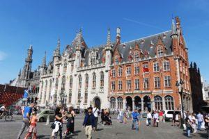 Bâtiment de la Grand-Place (Markt) de Bruges