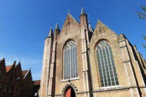 Bâtiment de la ville de Bruges