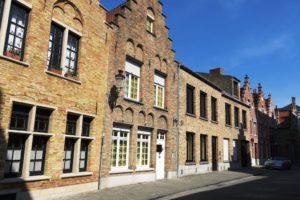 Maison avec pignon à gradins à Bruges