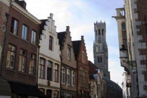 Maisons avec pignons à gradins à Bruges