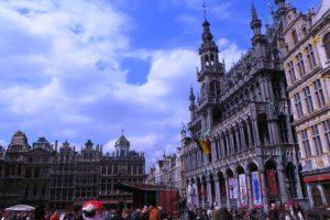 Grand-Place de Bruxelles et maison du roi.