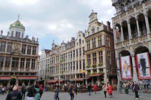 Façades de la Grand-Place Bruxelles.