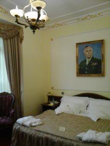 Chambre de l'hôtel Général Prague.