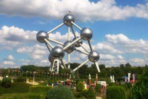 Atomium et parc mini-Europe Bruxelles.