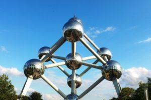 L'atomium, symbole de Bruxelles
