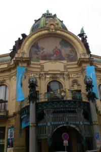 La maison municipale Prague.