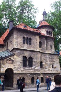 Synagogue Klaus josefov quartier juif Prague.