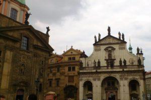 Clementinum bibliothèque nationale Prague.