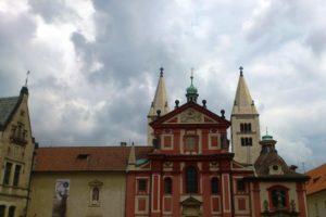 Basilique Saint-Georges de Prague.