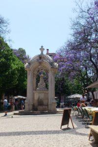 Largo do Carmo, place Chiado Lisbonne.