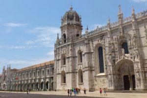 Monastère des Hiéronymites Mosteiro dos Jerónimos Lisbonne.