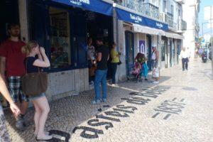 Pâtisseries Pastéis de Belém pastéis de nata proche Lisbonne.