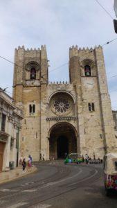 Cathédrale Santa Maria Maior de Lisbonne appelée désormais la catedral Sé Patriarcal Lisbonne.