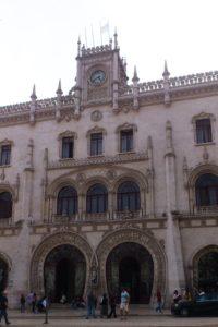 Gare centrale Esteção Central de Rossio Lisbonne.