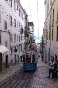 Ascensor da Bica Lisbonne.