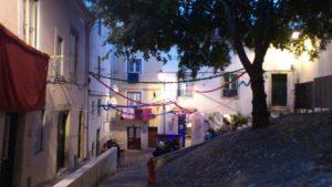 Restaurant The food temple Beco do Jasmim Lisbonne.