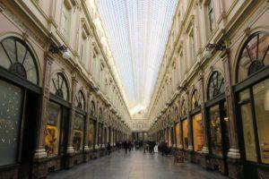 Verrière des galeries royales Saint-Hubert Bruxelles.