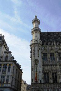 Façade bâtiment Grand-Place Bruxelles.