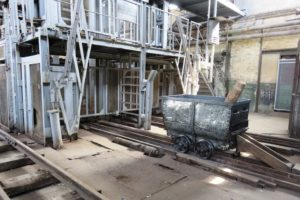 Wagonnet extraction charbon Oignies 9-9bis.