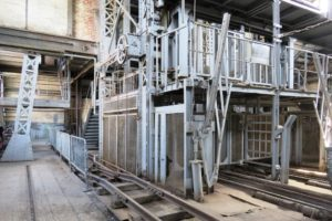 Oignies 9-9bis bâtiment d'arrivée du charbon.