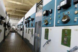 Couloir menant à la salle des machines Oignies 9-9bis.