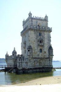 Tour de Belém torre de Belém Lisbonne.