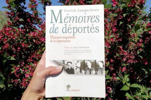 Livre Mémoires de déportés de Patrick Coupechoux