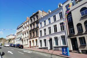 Façades maisons Basse-ville Boulogne-sur-Mer