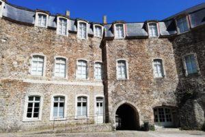 Cour du château comtal de Boulogne-sur-Mer