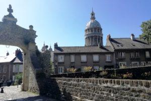 Basilique Notre-Dame depuis le château de Boulogne-sur-Mer