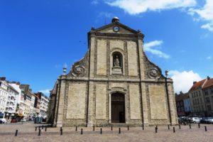 Façade église Saint Nicolas à Boulogne-sur-Mer