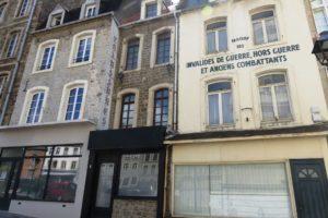Maison des invalides de guerre, hors guerre et anciens combattants à Boulogne-sur-Mer