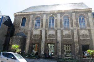 Ancien couvent des Annonciades devenue bibliothèque à Boulogne-sur-Mer