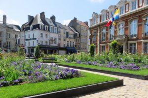 Place Godefroy de Bouillon à Boulogne-sur-Mer
