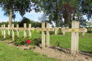 Tombes de la nécropole nationale de Zuydcoote