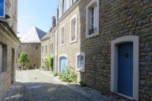 Façades ville fortifiée Boulogne-sur-Mer