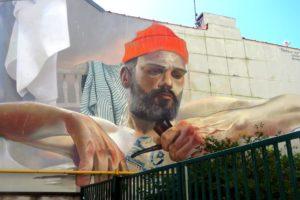 Street-art rue des Pipôts par Case_Maclaim à Boulogne-sur-Mer