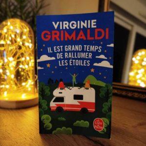 Livre il est grand temps de rallumer les étoiles de Virginie Grimaldi