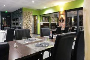 Intérieur du restaurant du domaine des cigognes à Ennevelin